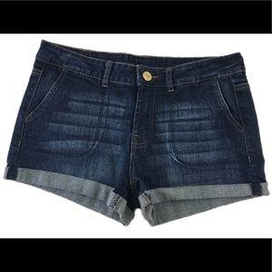 Buffalo Penelope Women's Cuffed Denim Shorts 29